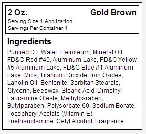 Dream Tan Gold Brown Facts