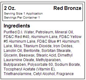 Dream Tan Red Bronze Facts