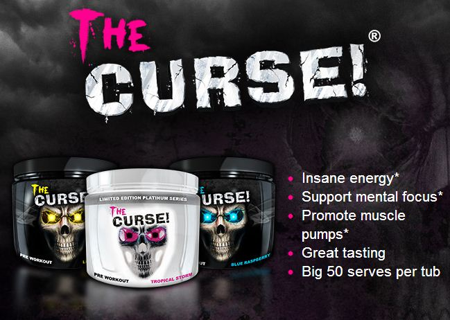 Suplemen Fitnes Cobra Labs The Curse