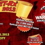 Met-RX Warrior Challenge 2013 di Balikpapan 2013