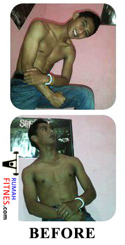 Body Transformation Riyan-Before.