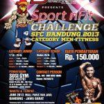 Lomba Binaraga Indonesia Sport nFit Challenge Bandung 2013