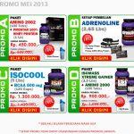 Promo Suplemen Ultimate Nutrition Mei 2013
