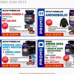 Promo Suplemen Ultimate Nutrition Juni 2013