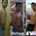Body Transformation: Kurus dan Buncit Menjadi Sixpack