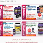 Diskon Suplemen Ultimate Nutrition July 2013