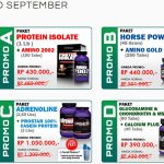 Promo Suplemen Ultimate Nutrition September 2013