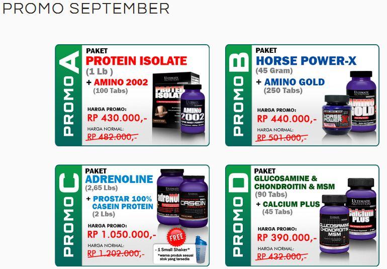 Promo Sportindo September 2013