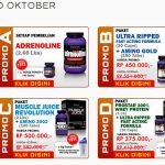 Promo Suplemen Ultimate Nutrition Oktober 2013