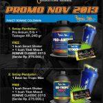 Promo Suplemen Fitnes Ronnie Cole November 2013