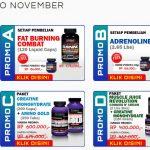 Diskon Suplemen Fitness Ultimate Nutrition November 2013