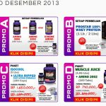 Promo Suplemen Fitness Ultimate Nutrition Desember 2013