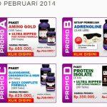 Suplemen Fitnes Murah Ultimate Nutrition Februari 2014