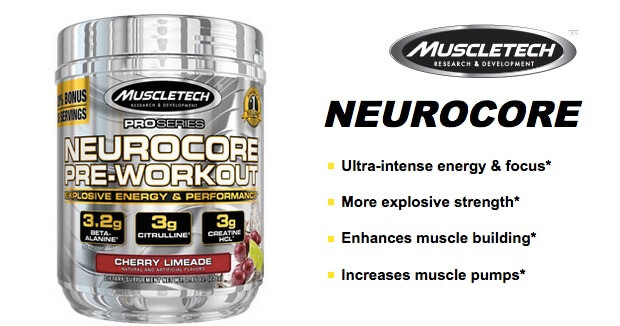 Suplemen Neurocore Preworkout