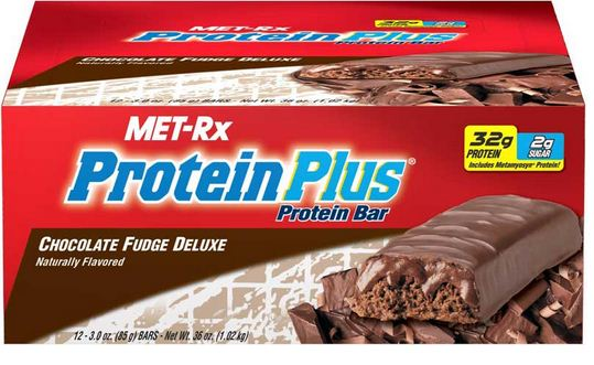 Met-Rx Protein Bar Supplement Facts