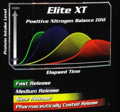 Elite Xt Time Release Protein