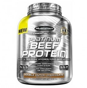 Muscletech Platinum Beef Protein
