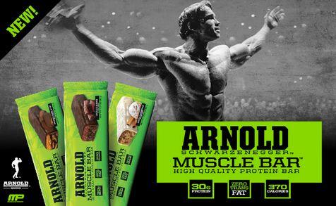 Arnold Schwarzenegger Muscle Bar