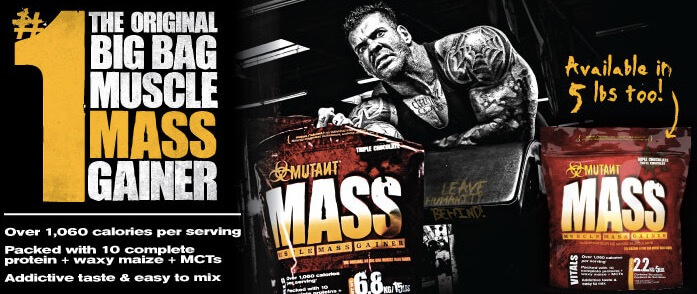 Jual Mutant Mass Gainer