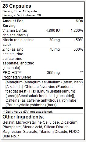 Nutrisi Suplemen BPI Pro-HD