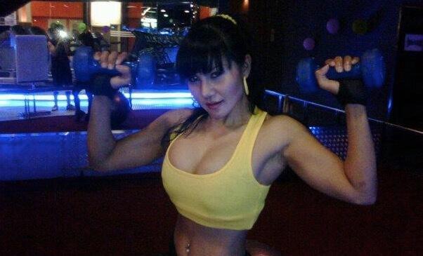 cewek fitness