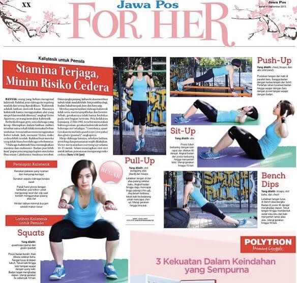 Vivian Junita Fitness Model