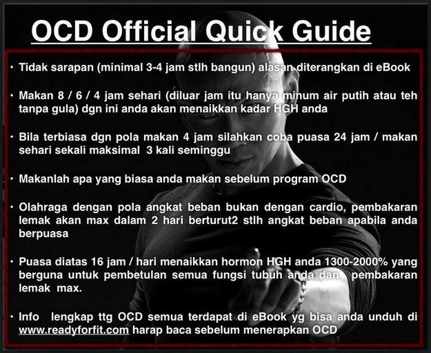 Panduan Diet OCD