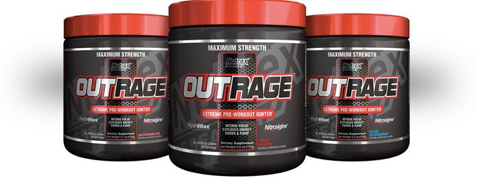 Suplemen Fitness Nutrex Outrage