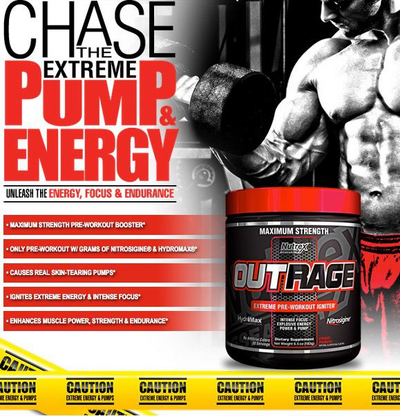 Suplemen Pre Workout Nutrex Outrage