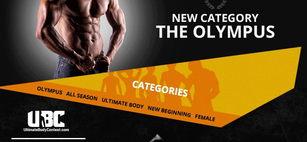 Ultimate Body Contest Kategori Olympus