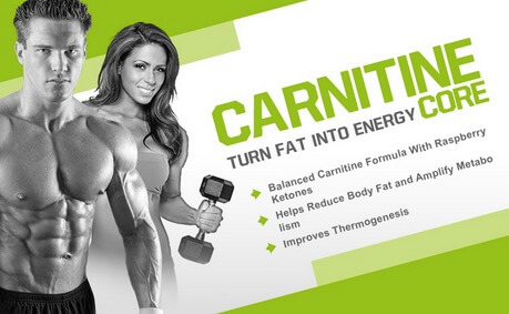 Suplemen MP Carnitine Core