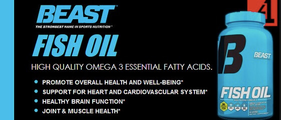 Jual BEAST Fish Oil