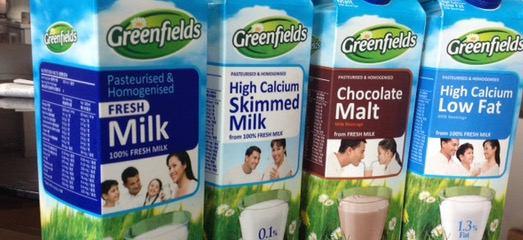Susu Segar Tinggi Protein