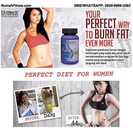 pembakar lemak perfect diet for woman