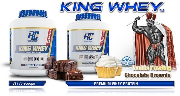 Suplemen Ronnie Cole King Whey