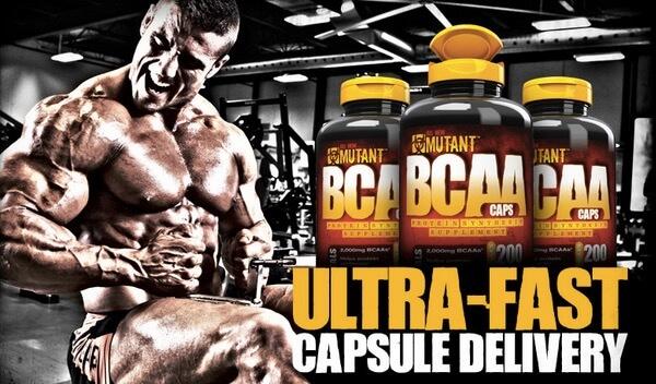 Mutant BCAA Capsule