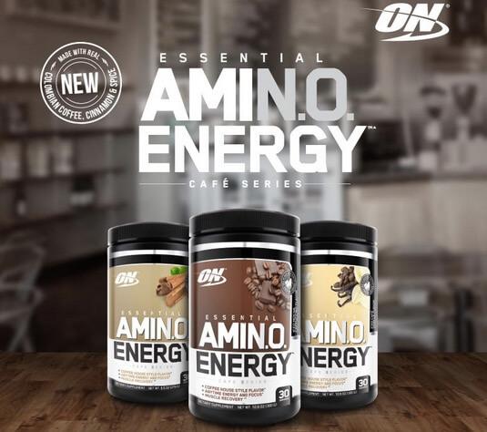Suplemen Optimum Nutrition Amino Energy Cafe Series