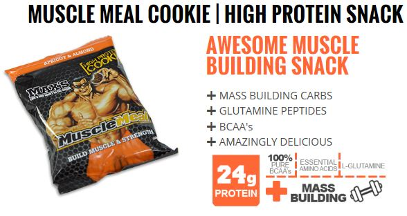 Max Muscle Meal Cookie Protein Bar
