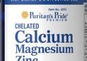 Puritan Calcium Magnesium Zinc