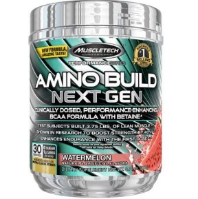 Suplemen MuscleTech Amino Build next Gen