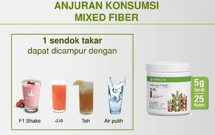 Distributor resmi Herbalife Mix Fiber
