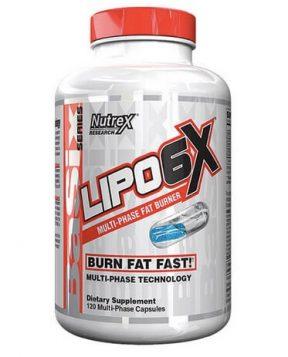 Suplemen pembakar lemak Lipo6 X