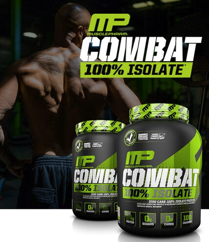 Jual MP Combat Isolate Whey